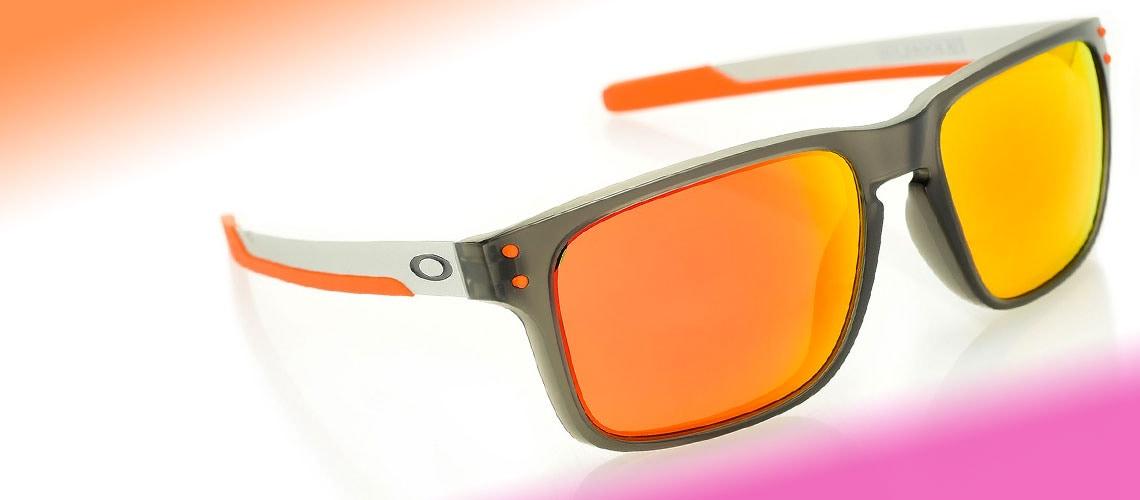 748-348 Oakley Men's 57mm Holbrook Mix Prizm Square Frame Sunglasses w Cloth Bag