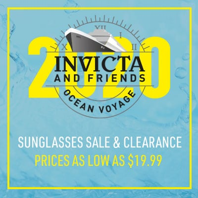 Invicta & Friends Ocean Voyage Sunglasses Sale & Clearance Prices as Low as $19.99