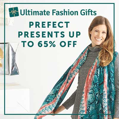 Ultimate fashion Gifts Perfect Presents Up to 65% Off