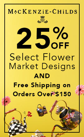 25% OFF Select Flower Market Designs AND Free Shipping on Orders Over $150  Limited Time Only!