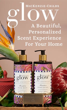 Glow Home Apothecary By MacKenzie-Childs  A Beautiful, Personalized Scent Experience For Your Home