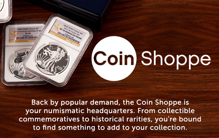 The Coin Shoppe  Back by popular demand at ShopHQ
