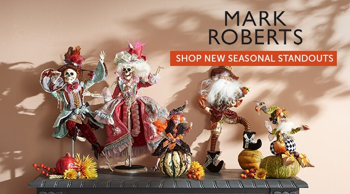 495-290 - Mark Roberts Choice of Size Limited Edition Northpole Thanksgiving Elf, 495-279 - Mark Roberts Choice of Limited Edition Skeleton495-289 - Mark Roberts Choice of Limited Edition Pumpkin Pie Fairy 495-289 - Mark Roberts Choice of Limited Edition Pumpkin Pie Fairy