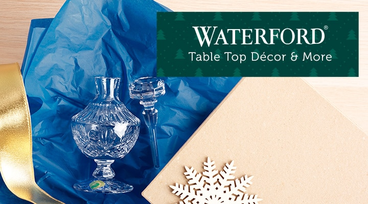 487-954 Waterford Crystal 6 Kelly Pattern Footed Perfume Bottle