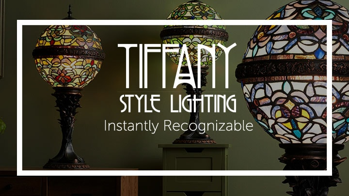 Tiffany-Style Lighting Instantly Recognizable at ShopHQ 476-933 Tiffany-Style Empress Orb 27 Stained Glass Table Lamp