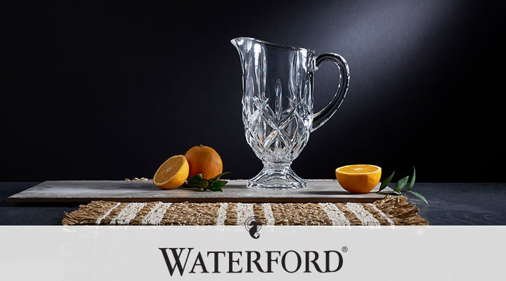 Waterford - 488-922 Marquis by Waterford 10 Footed Pitcher