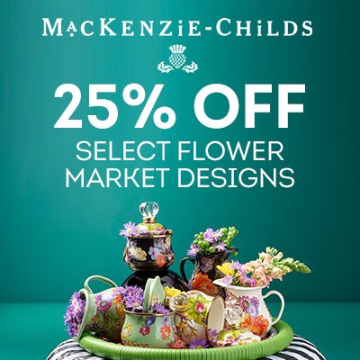 MacKenzie-Childs 25% OFF Select Flower Market Prints