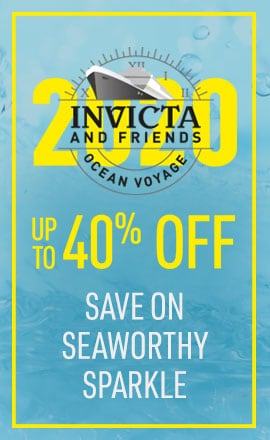 Invicta and Friends Ocean Voyage Save on Seaworthy Sparkle - up to 40% off