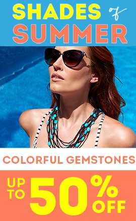 Colorful Gemstones up to 50% off -  188-635 Victoria Wieck Sterling Silver 21 Blue Howlite & Black Spinel Multi Strand Necklace