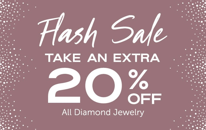 FLASH SALE Take an Extra 20% OFF All Diamond Jewelry at ShopHQ
