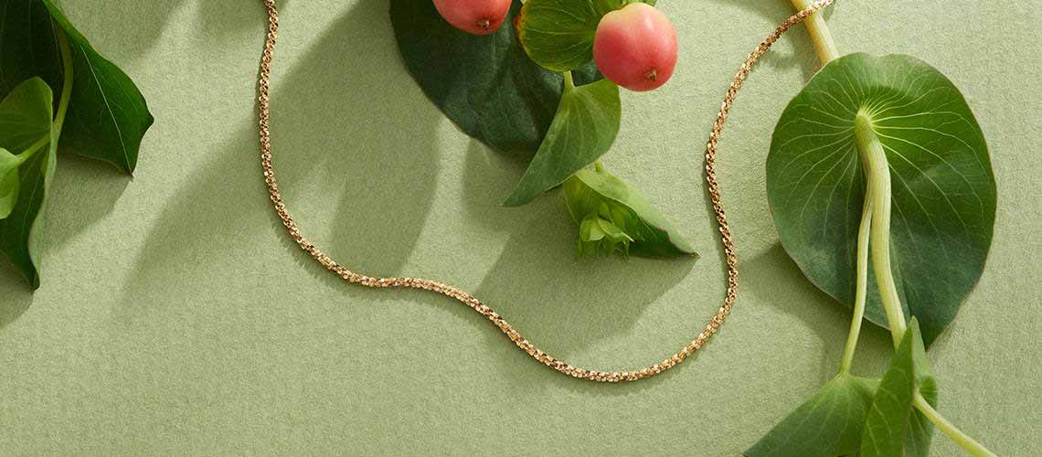 Italian Jewelry - 184-671 Stefano Oro 14K Gold Choice of Length Margherita Chain Necklace