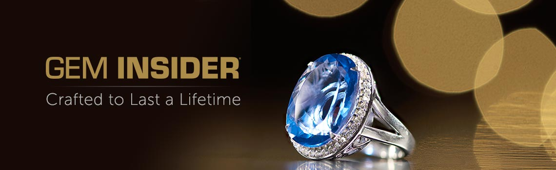 Gem Insider - Crafted to Last a Lifetime - 178-434 Gem Insider® Sterling Silver 18.48ctw Color Change Fluorite & White Zircon Ring