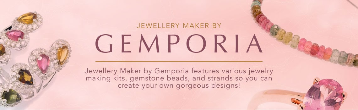 Jewellery Maker by Gemporia  Jewellery Maker by Gemporia features various jewelry making kits, gemstone beads, and strands so you can create your own gorgeous designs!