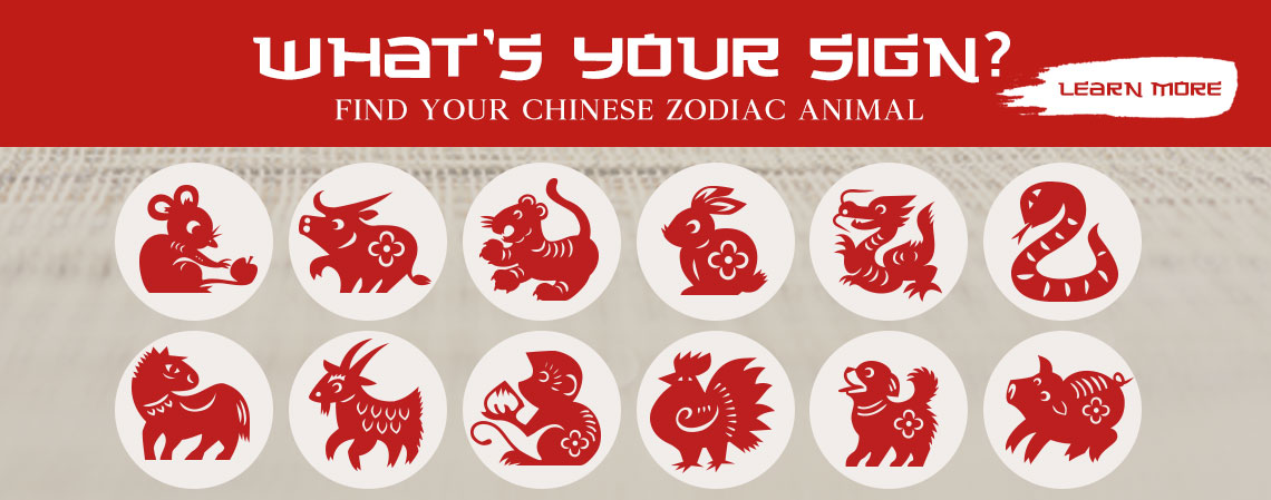 What's your sign?  Find Your Chinese Zodiac Animal