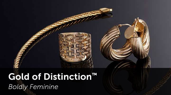 Gold of Distinction™ Boldly Feminine