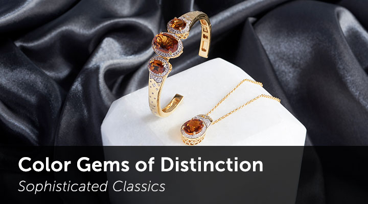 Color Gems of Distinction  Sophisticated Classics