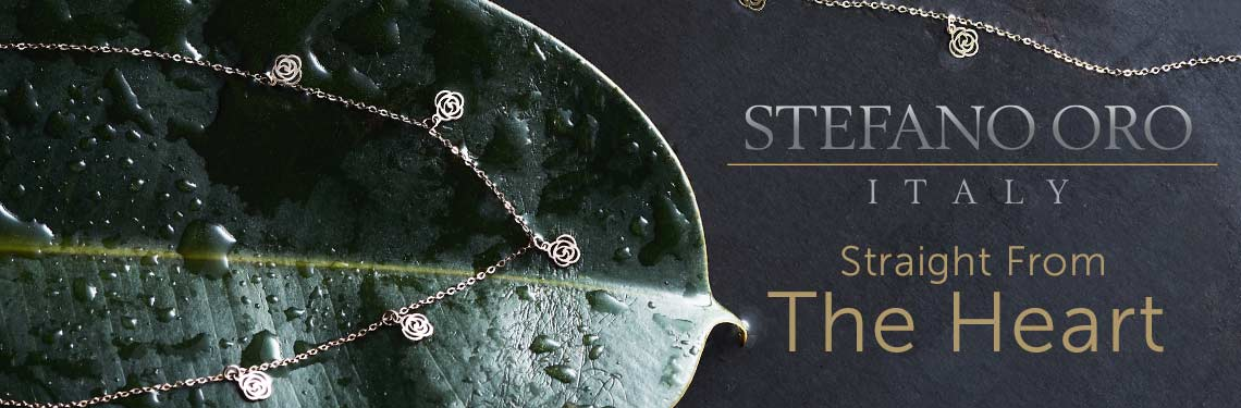 Stefano Oro Straight From the Heart at ShopHQ  170-927 Stefano Oro Bella Rosa 14K Gold 16 Necklace w 2 Extender, 1.05 grams