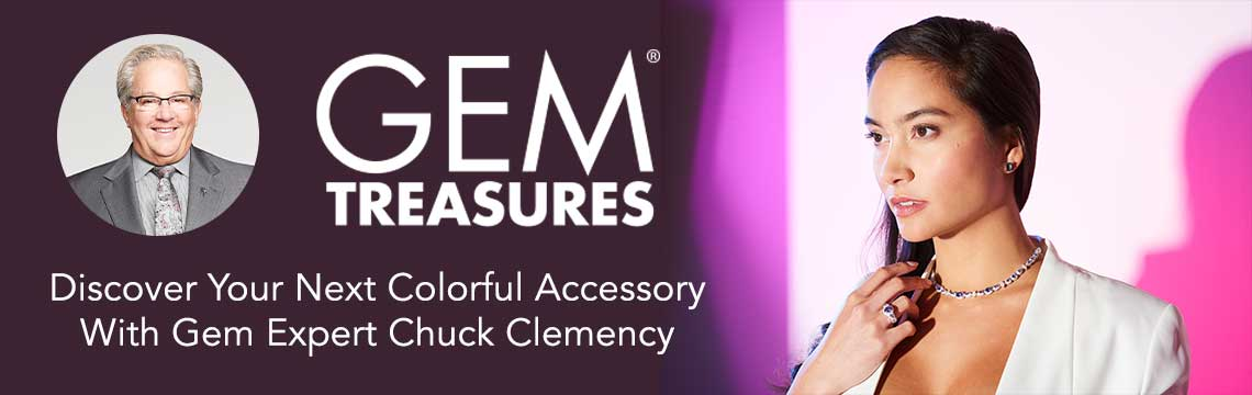 Gem Treasures  Discover Your Next Colorful Accessory With Gem Expert Chuck Clemency