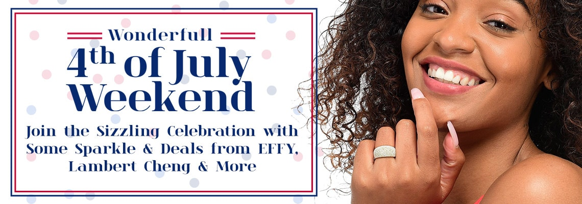 Join the Sizzling Celebration with Some Sparkle & Deals from EFFY, Lambert Cheng & More -  189-684 Stefano Oro Spritz Choice of 14K Gold Domed Tapered Band Ring