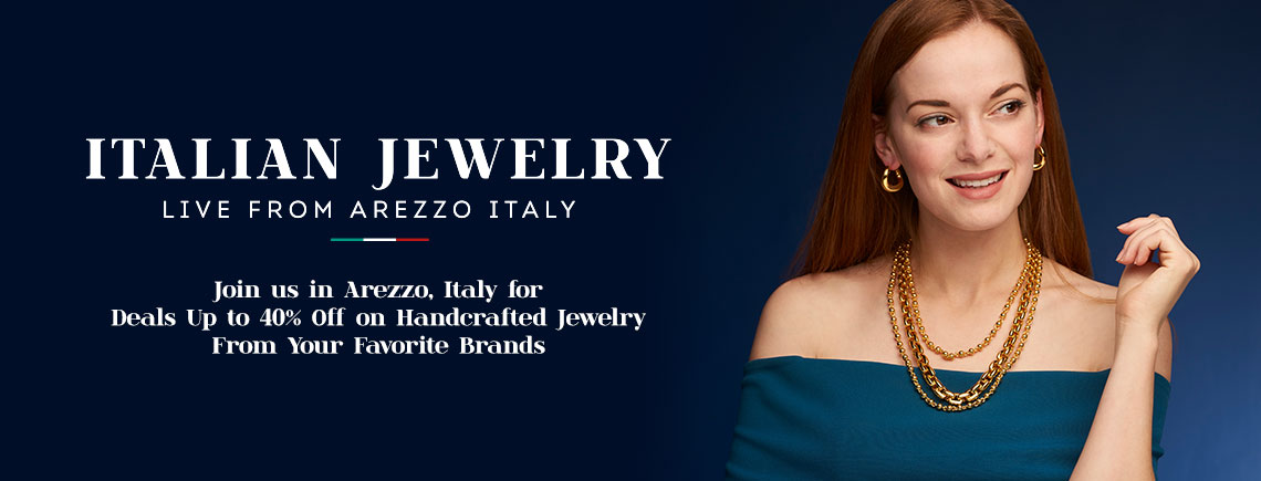 Join us in Arezzo, Italy for Deals Up to 40% Off on Handcrafted Jewelry From Your Favorite Brands
