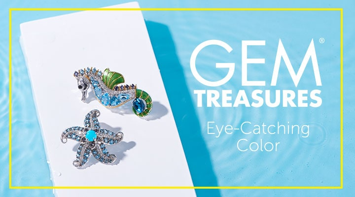 Gem Treasures Eye - Catching Color