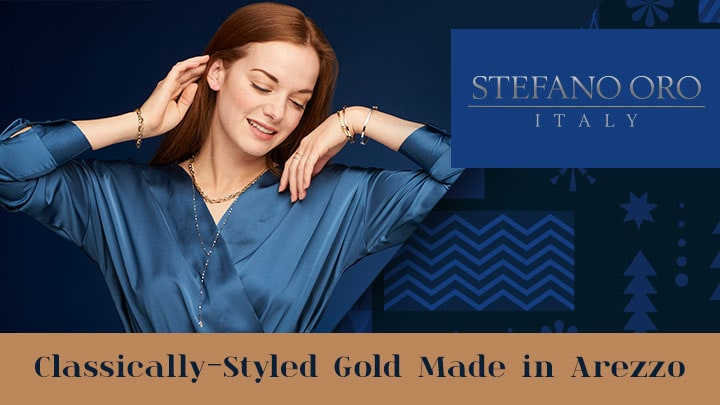 Stefano Oro Classically-Styled Gold Made in Arezzo - 191-017, 191-935, 184-683, 177-438, 191-024