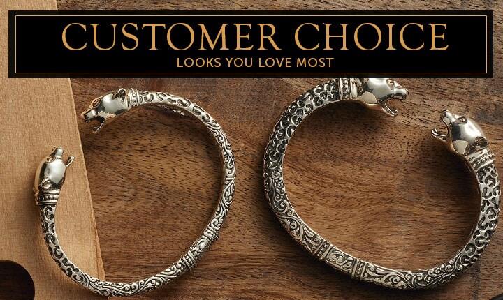 171-903 Artisan Silver by Samuel B. Choice of Size Leopard Hinged Cuff Bracelet