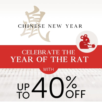 Chinese New Year at ShopHQ - Celebrate the Year of the Rat With Up to 40% OFF
