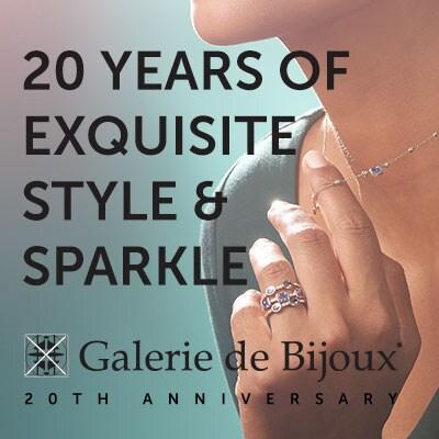 Galerie de Bijoux Anniversary | 20 Years of Exquisite Style & Sparkle