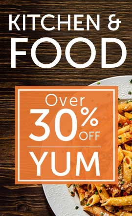 Kitchen & Food Over 30% OFF YUM