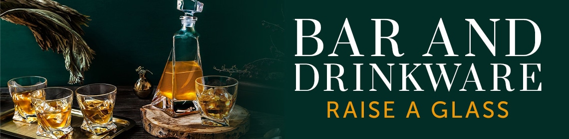 Bar and Drinkware Raise a Glass