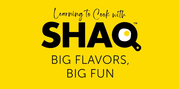 Learning to Cooking With Shaq - BIG FLAVOR BIG FUN