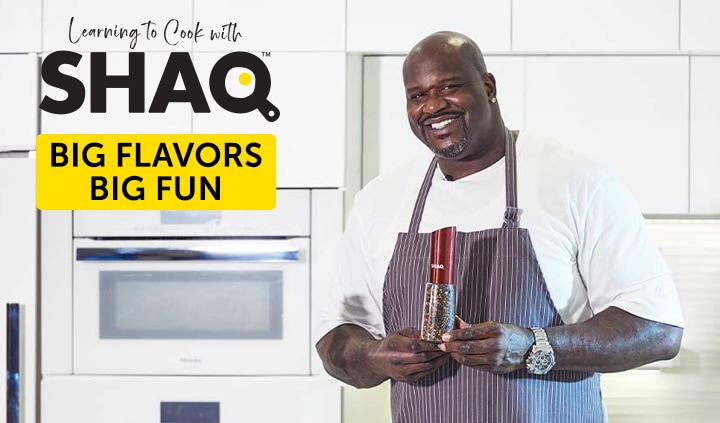 Learning to Cook with Shaq - Big Flavors, Big Fun