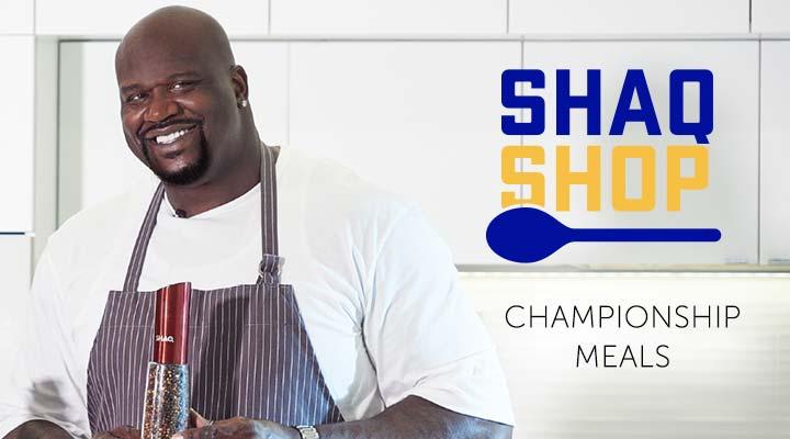 Shaq Shop Championship Meals