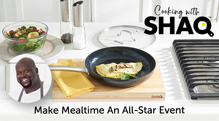 Make Mealtime An All-Star Event - Cooking With Shaq