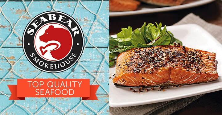 SeaBear Top Quality Seafood - 491-538 SeaBear Chef Shaq Choice of 6 or 12 Sockeye Dinner Fillets
