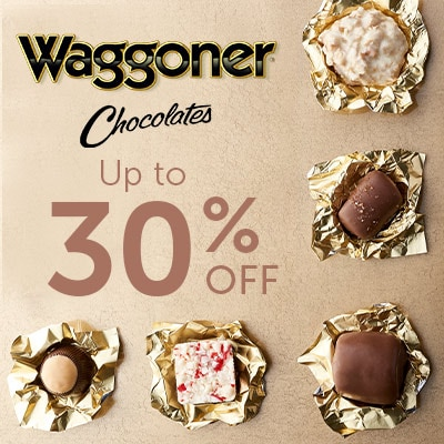 Waggoner Chocolates  Up to 30% OFF at ShopHQ