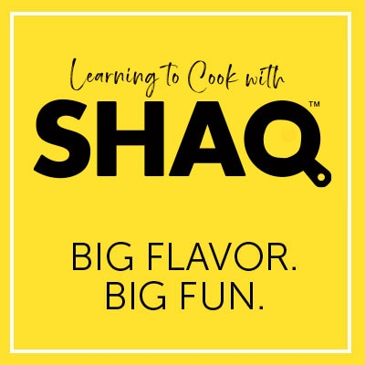 Cooking With Shaq Big Flavor. Big Fun.