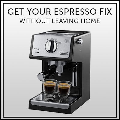 Get Your Espresso Fix Without Leaving Home