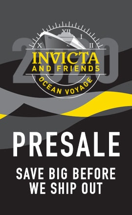Invicta and Friends Ocean Voyage Presale at ShopHQ