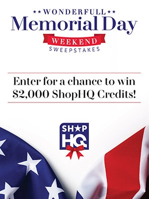 Wonderfull Memorial Day Weekend Sweepstakes - Enter for a chance to win $2000 ShopHQ Credits