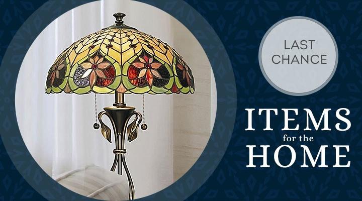 497-000 Tiffany-Style Lighting 26.5 Leilani Table Lamp