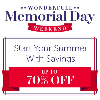 Start Your Summer With Savings Up to 70% Off