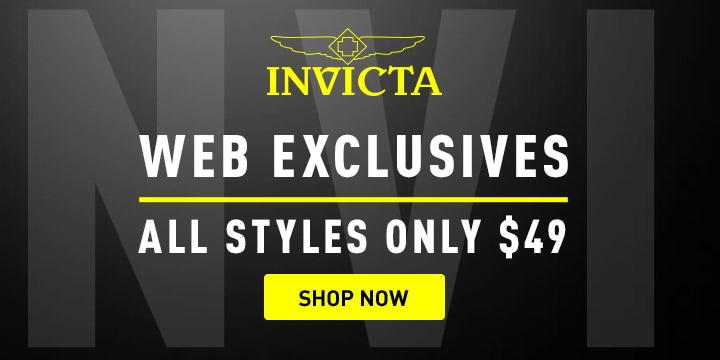 Invicta Web Exclusives All Styles Only $49 at ShopHQ 674-537 Invicta Men's 37.5mm Pro Diver Quartz Stainless Steel Bracelet Watch