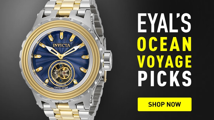 Invicta Eyal's Ocean Voyage Picks at ShopHQ 675-804 Invicta Reserve 52mm Subaqua Specialty Ltd Ed Tourbillon Bracelet Watch