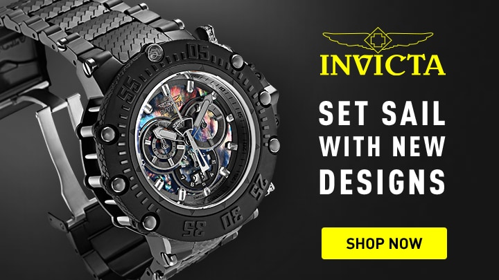 Invicta New Designs at ShopHQ 675-772 Invicta Men's 52mm Subaqua Noma VII Swiss Quartz Chronograph Stainless Steel Bracelet Watch