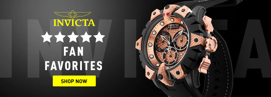 Five Star Fan Favorites - 675-767 Invicta Reserve Men's 52mm Venom Viper Swiss Quartz Chronograph Strap Watch