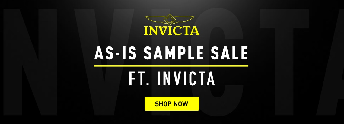 Invicta As-is Sample Sale