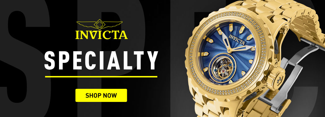 Invicta Specialty 674-077 Invicta Reserve 52mm Subaqua Specialty Ltd Ed Tourbillon 0.70ctw Diamond Bracelet Watch