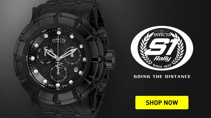 682-571 Invicta Reserve Men's 52mm Grand S1 Rally Ltd Ed Swiss Quartz Chronograph 1.07ctw Diamond Watch